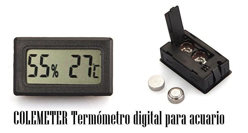 COLEMETER Termómetro digital para acuario