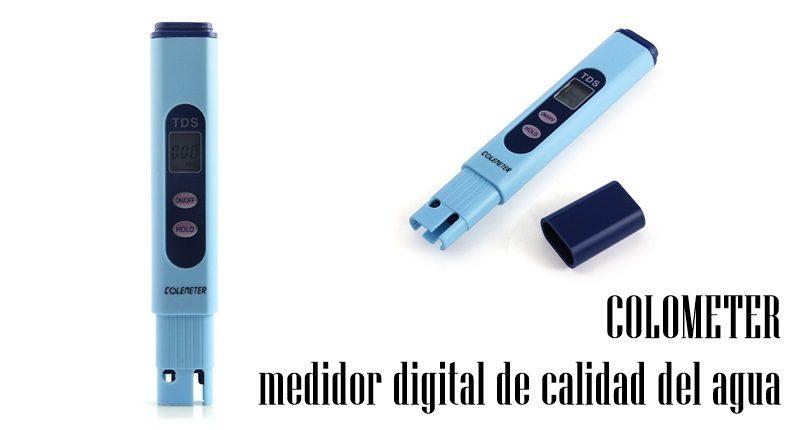 COLOMETER medidor digital de calidad del agua