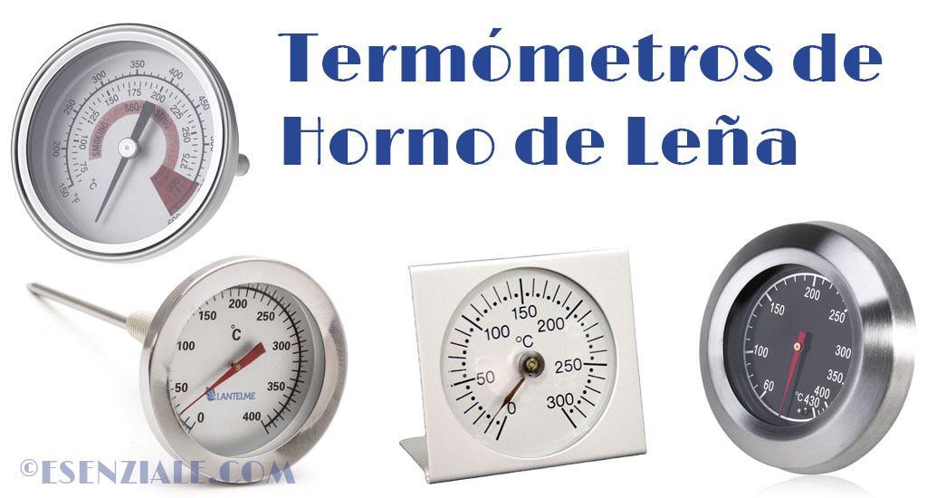 mejores termómetros para hornos de leña