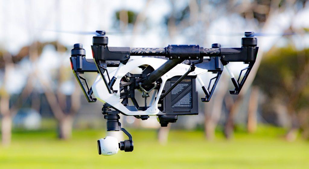 Las partes de un drone