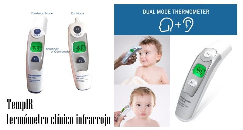 TempIR termómetro clínico infrarrojo