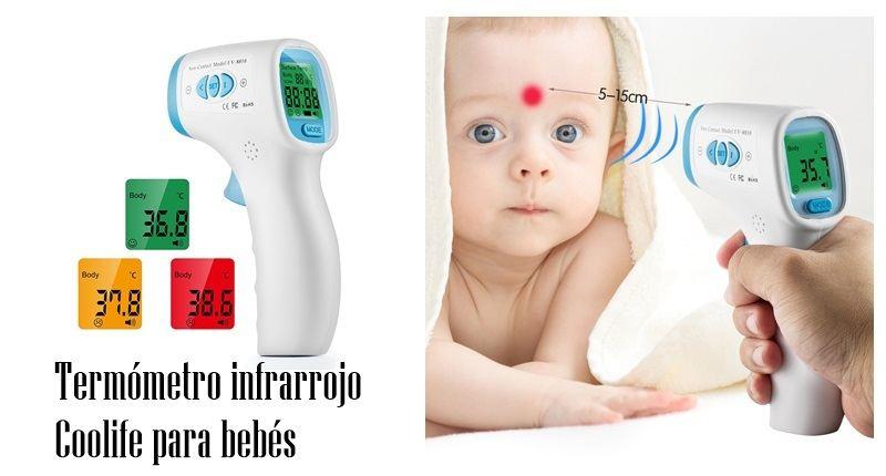 Termómetro infrarrojo Coolife para bebés