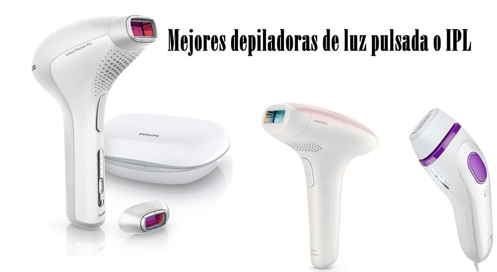 Mejores depiladoras de luz pulsada o IPL