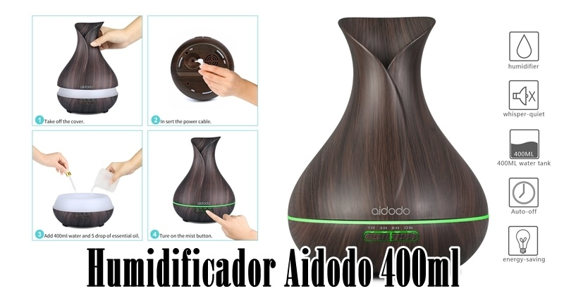 Humidificador Aidodo 400ml