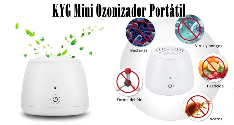 KYG Mini Ozonizador Portátil