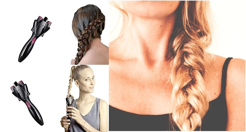 ¿Cómo se usa un trenzador de pelo?