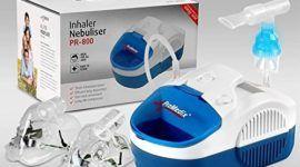 PROMEDIX PR-800 para inhalación de medicamentos líquidos (inhalador+salmuera)
