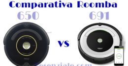 Diferencias Entre los Roombas 650 y 691 – Duelo de iRobots Baratos