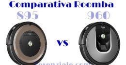 Comparativa Roomba 895 vs 960