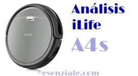Análisis del iLife A4s – Un aspirador BARATO con grandes prestaciones
