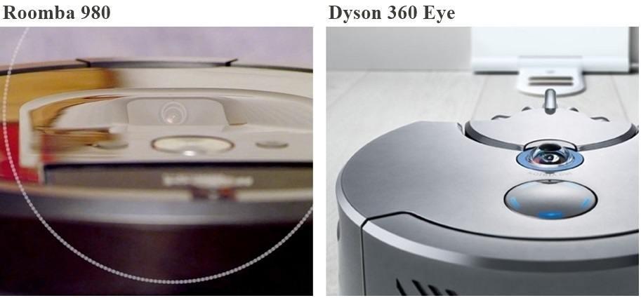 cámaras en aspiradoras robóticas