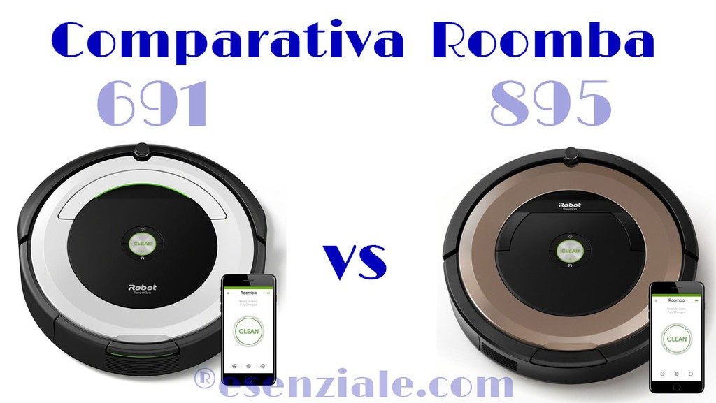 Comparativa Roomba 691 vs 895