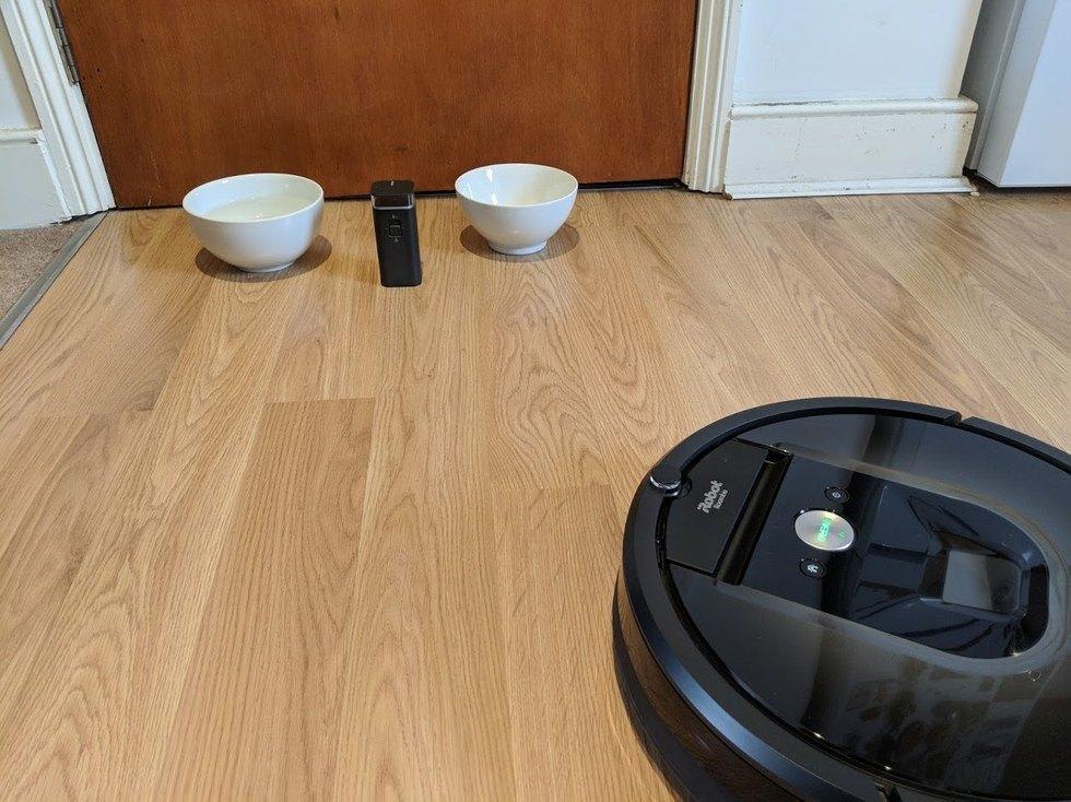 funcionamiento de la pared virtual de iRobot